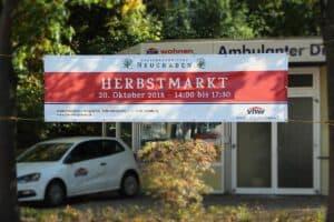 Werbebanner Herbstmarkt