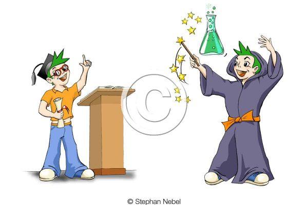 Illustration für Kindergetränke
